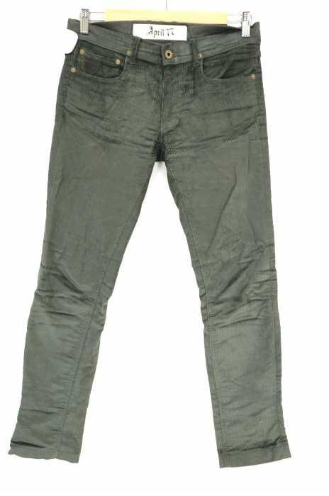 April77 (エイプリルセブンティセブン) JOEY dischord Comfort コーデュロイスキニーパンツ メンズ パンツ