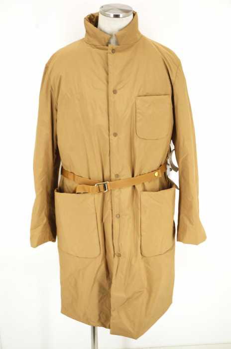 PINE(パイン) PADDING COAT ベルト付き中綿ロングコート メンズ アウター