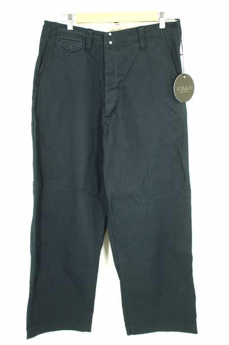 VOAAOV (ヴォアーブ) coating wide chino pants パンツ メンズ パンツ