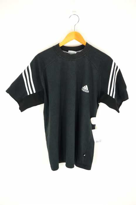 adidas (アディダス) 90S 刺繍ラグランスリーブTシャツ メンズ トップス