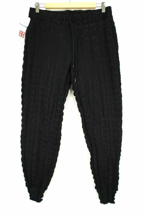 ISSEY MIYAKE (イッセイミヤケ) 17SS 絞り加工ストライプパンツ メンズ パンツ