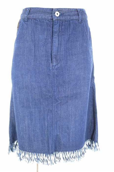 AG by aquagirl (エージーバイアクアガール) フリンジデニムスカート レディース スカート