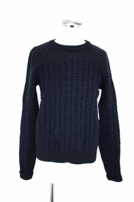garanteret ren uld ウールニットセーター メンズ トップス