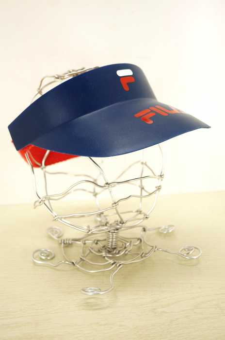 FILA (フィラ) ロゴサンバイザー メンズ 帽子