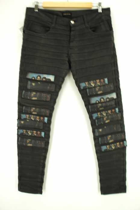UNDERCOVER (アンダーカバー) 15SS TELEVISIONハイパワーストレッチハギパンツ メンズ パンツ