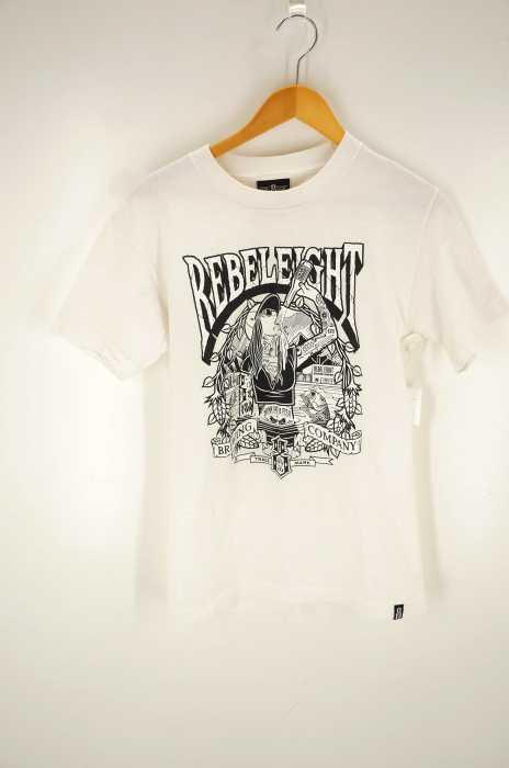 REBEL8(レベルエイト) ガールプリントTシャツ メンズ トップス