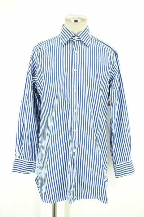 Hilditch & key (ヒルディッチ&キー) ストライプシャツ メンズ トップス