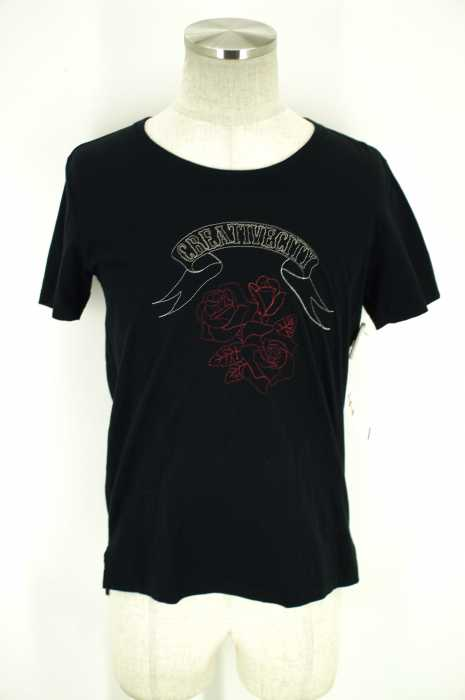 FACTOTUM (ファクトタム) 12SS 刺繍Tシャツ メンズ トップス