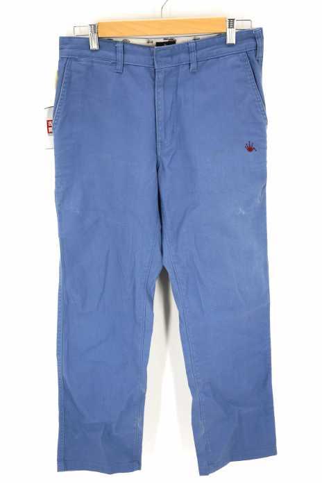 STUSSY×Dickies(ステューシーディッキーズ) ワンポイント刺繍ワークパンツ メンズ パンツ
