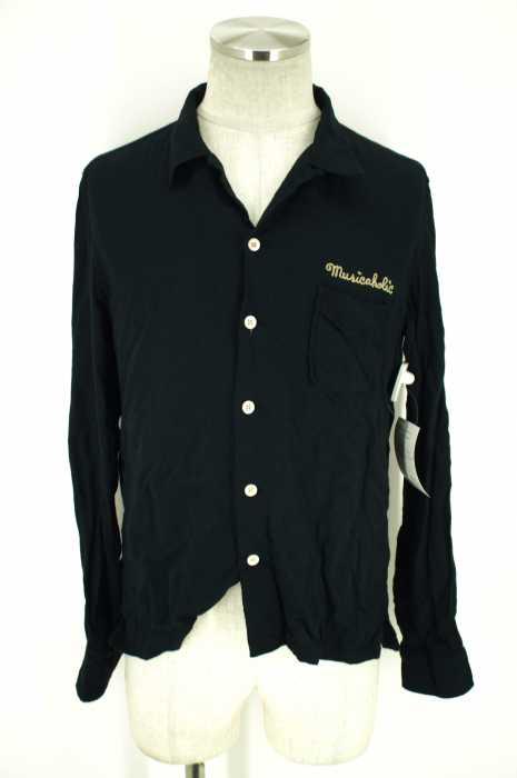 RUDE GALLERY (ルードギャラリー) オープンカラーレーヨンワッペン刺繍シャツ メンズ トップス