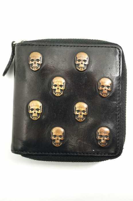 Lucien Pellat-Finet (ルシアンペラフィネ) レザー二つ折り財布 メンズ 財布・ケース