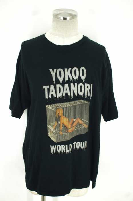 HYSTERIC GLAMOUR (ヒステリックグラマー) 17SS YOKOO TADANORI WORLD TOUR Tシャツ メンズ トップス