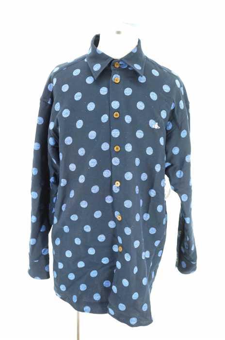Vivienne Westwood MAN (ヴィヴィアンウエストウッドマン) 17AW ビッグシェイプ ドットシャツ メンズ トップス