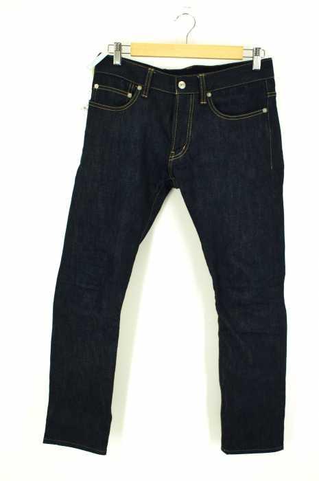 LIDEAL (リディアル) リジッドテーパードデニムパンツ メンズ パンツ