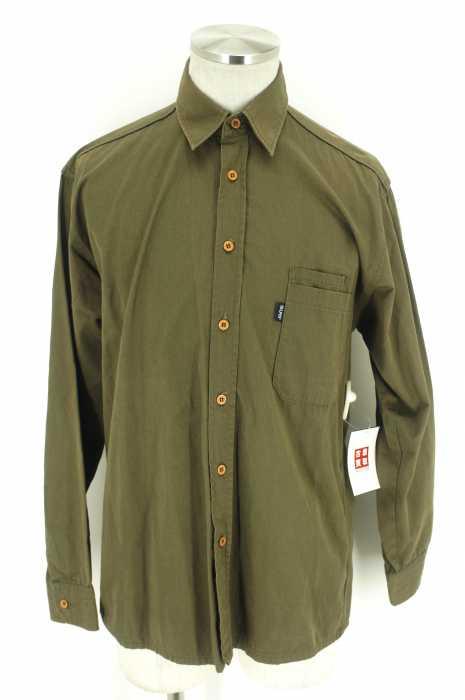 SILAS (サイラス) 七分丈ボタンシャツ メンズ トップス