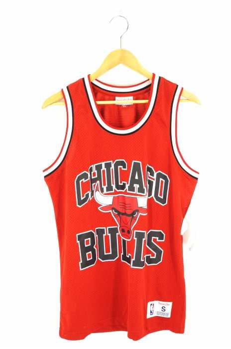 mitchell&ness(ミッチェルアンドネス) CHICAGO BULLS GameShirt メンズ トップス