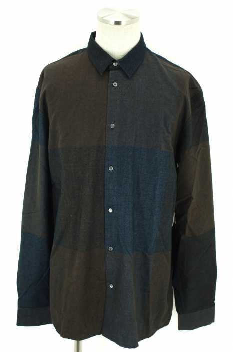 STEPHAN SCHNEIDER(ステファンシュナイダー) 16AW フランネルボタンシャツ メンズ トップス