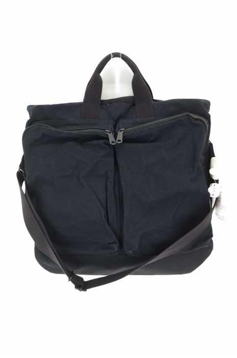 MARGARET HOWELL × PORTER (マーガレット ハウエル × ポーター) 17AW ヘルメットバッグ  2WAY メンズ バッグ