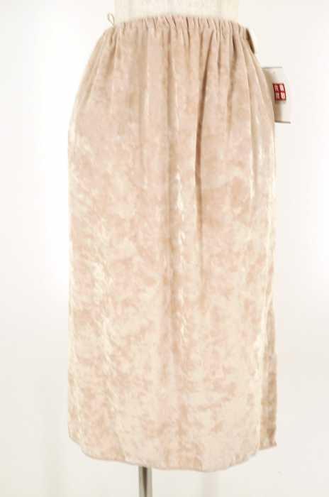 6 BEAUTY & YOUTH UNITED ARROWS(ロクビューティーアンドユースユナイテッドアローズ) VELVET TIGHT SKIRT ベロアロングスカート レディース スカート