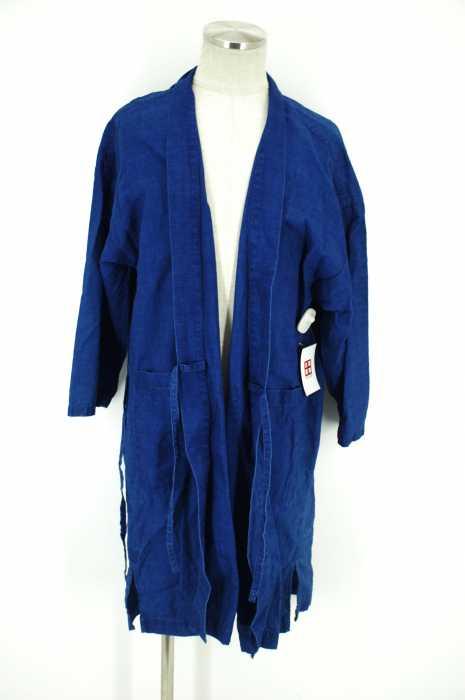 STAMMBAUM (シュタンバウム) インディゴ羽織コート メンズ アウター