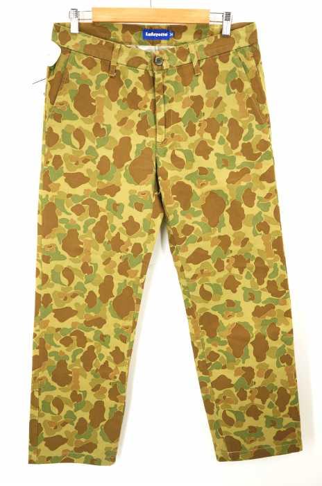 Lafayette(ラファイエット) 迷彩チノパンツ  カモフラ メンズ パンツ