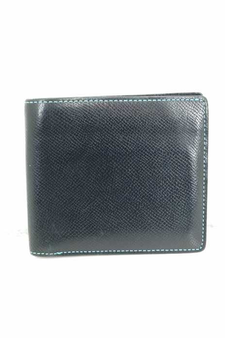 BROOKLYN MUSEUM (ブルックリン ミュージアム) インターナショナルウォレット 2つ折り財布 フレンチカーフ メンズ 財布・ケース