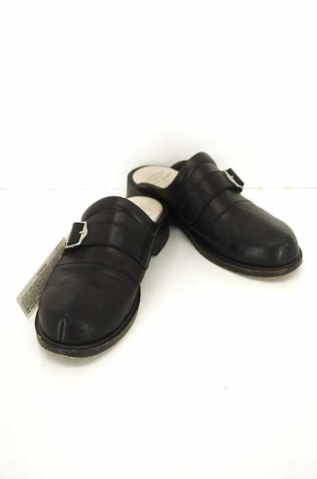 foot the coacher (フットザコーチャー) SINGLE BELT CLOG シングルベルトクロッグ レザーサンダル メンズ シューズ