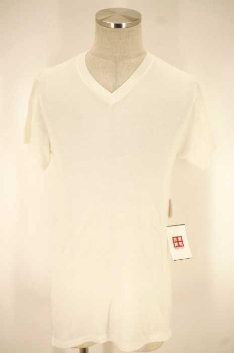 THE ELDER STATESMAN (ザエルダーステーツマン) VネックTシャツ メンズ トップス