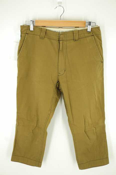 YAECA×BRISBANE MOSS (ヤエカ×ブリスベンモス) アンクルチノパンツ メンズ パンツ