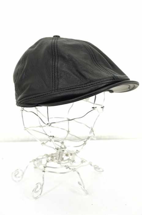 SCHOTT BROS(ショット ブロス) ラムレザーキャスケット メンズ 帽子