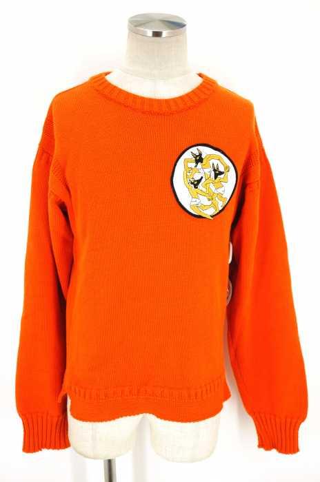 J.W.ANDERSON (ジェイダブリューアンダーソン) 17SS Embroidered Patch Sweater アヌビスワッペン メンズ トップス