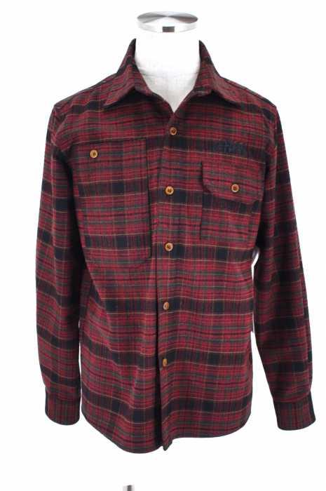 Leflah (レフラー) オープンカラーシャツジャケット メンズ アウター