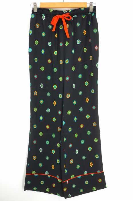 KENZO×H&M (ケンゾー×エイチアンドエム) 総柄シルクパジャマパンツ レディース パンツ