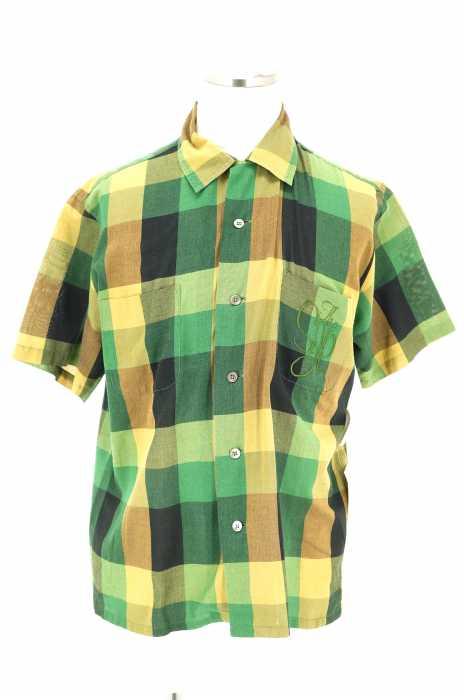 The Stylist Japan (ザスタイリストジャパン) オープンカラー半袖チェックシャツ メンズ トップス