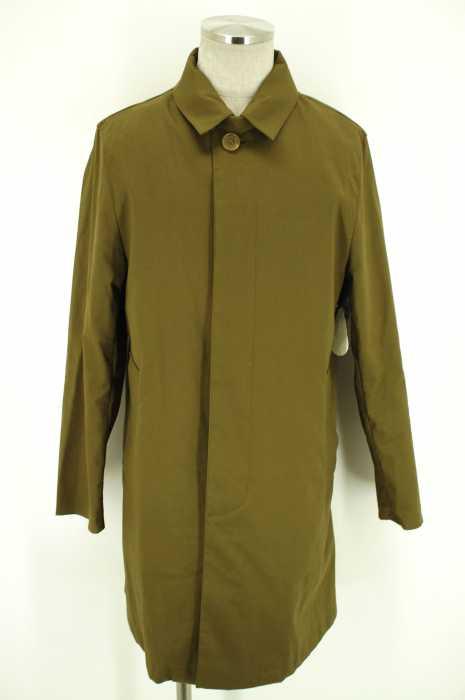 BEAMS×Traditional Weatherwear (ビームス×トラディショナルウェザーウェア) BEAMS別注 ライナー付きステンカラーコート メンズ アウター