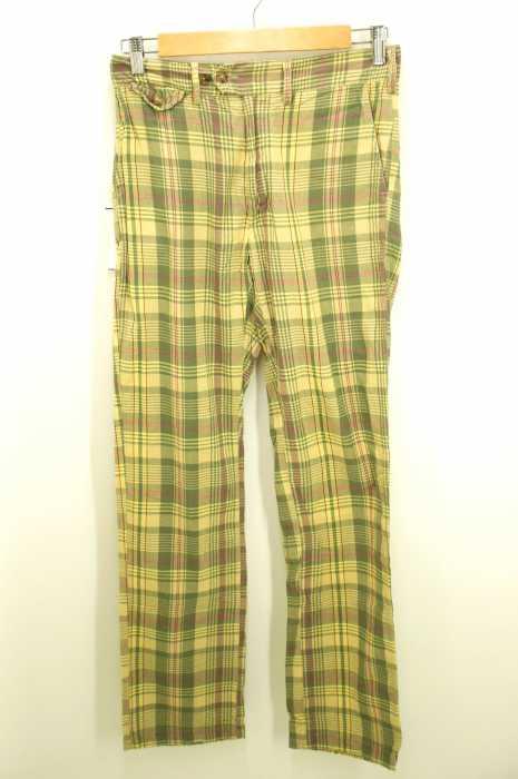 Engineered Garments (エンジニアードガーメンツ) マドラスチェック柄 メンズ パンツ