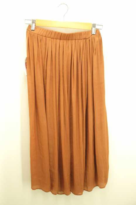 Tiara(ティアラ) スパンサテンギャザースカート レディース スカート