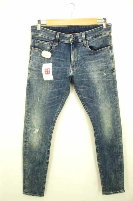 G-STAR RAW (ジースターロー) 33011DECONSTRUCTEDSUPERSLIM メンズ パンツ