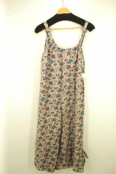 POU DOU DOU(プードゥドゥ) 裾リボンデザイン レディース オールインワン