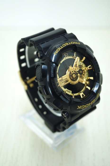 G-SHOCK(ジーショック) ブラック×ゴールドシリーズ アナデジモデル メンズ 腕時計