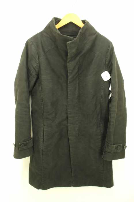 OURET (オーレット) COTTON MOLESKIN STAND COLLAR COAT メンズ アウター