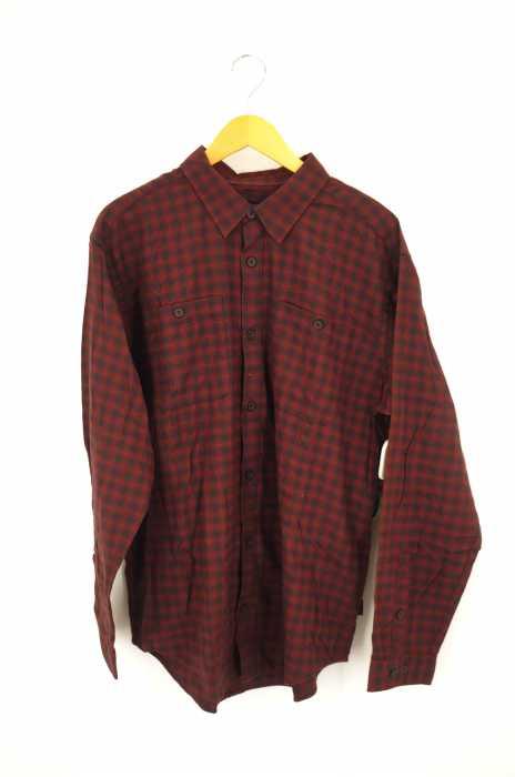 patagonia (パタゴニア) Long-Sleeved Pima Cotton Shirt ロングスリーブ ピマ コットンシャツ  メンズ トップス