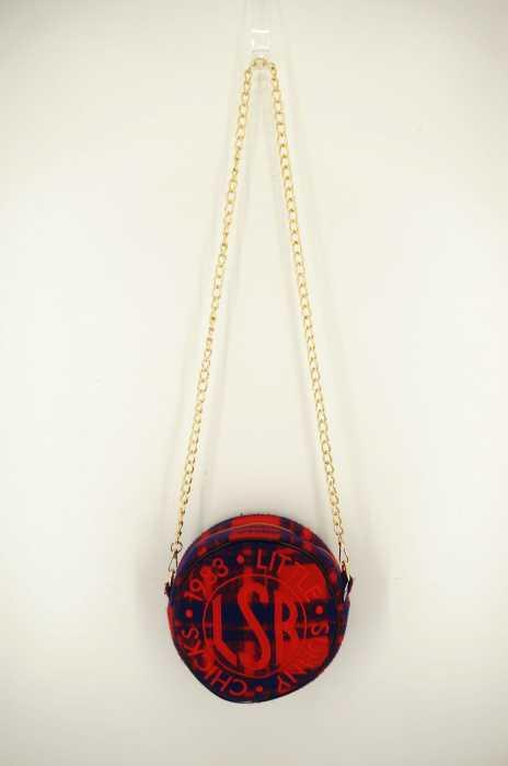 little sunny bite(リトルサニーバイト) stitched symbolic bag サークルロゴバッグ レディース バッグ