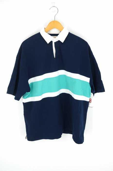 BEAMS  (ビームス) 18SS  オーバーサイズコットンポロシャツ メンズ トップス