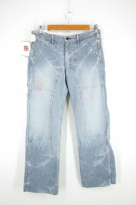 備中倉敷工房 ETERNAL(エターナル) ヒッコリーペインターパンツ メンズ パンツ