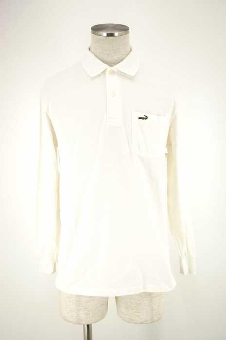 CROCODILE (クロコダイル) ワンポイント刺繍ポロシャツ メンズ トップス