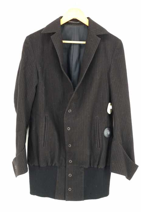 Y's (ワイズ) 裾リブ テーラードジャケット メンズ アウター