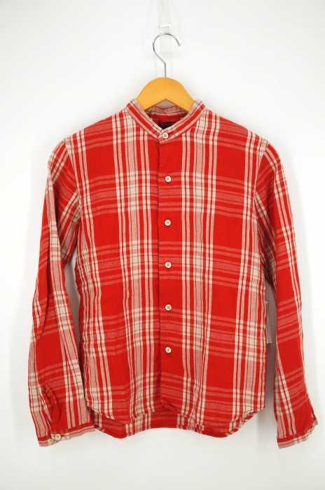 BRUNABOINNE(ブルーナボイン) リネンバンドカラーシャツ レディース トップス