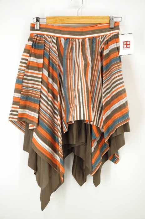 Vivienne Westwood RED LABEL (ヴィヴィアンウエストウッドレッドレーベル) 総柄 変形スカート レディース スカート