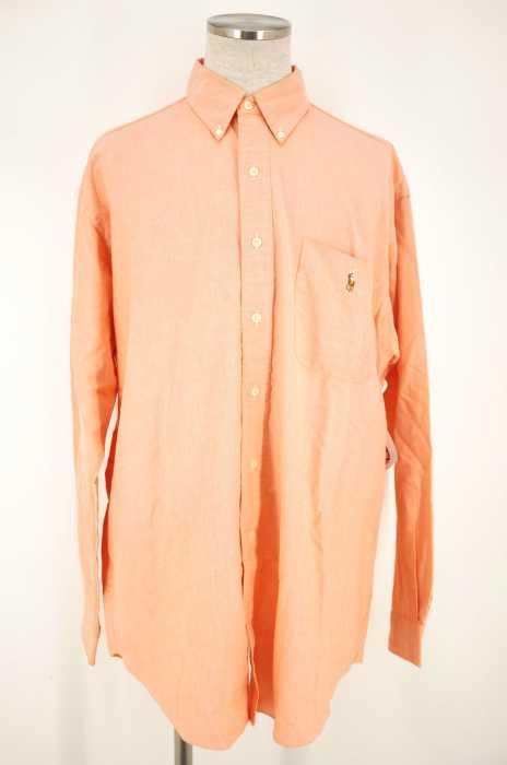 RALPH LAUREN (ラルフローレン) BLACK ボタンダウンシャツ メンズ トップス